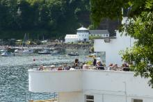 Cafe Fish overlooking Tobermory Harbour
