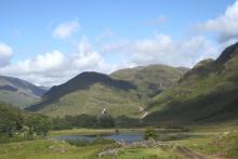 The start of the walk at Glen Moidart