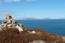 Lovely coastal views with fine views to Small Isles