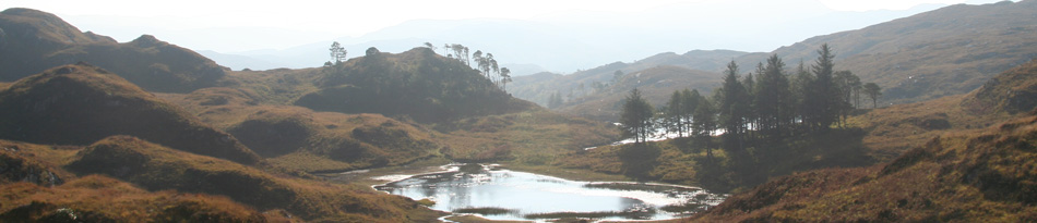 lochans on blain burn walk