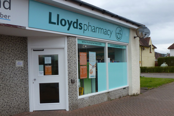Lloyds Pharamcy in Caol near Fort William