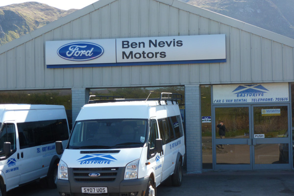 EasyDrive Car and Van Hire, Fort William