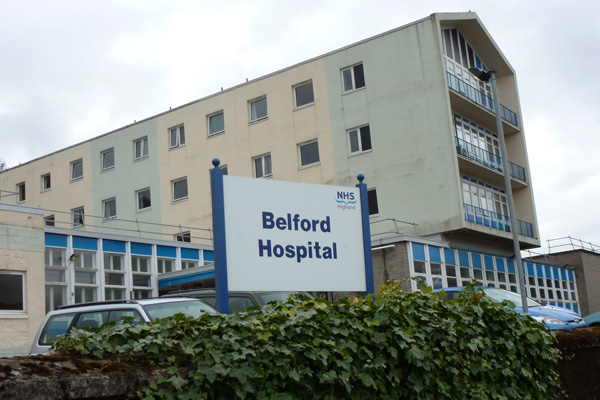 Belford Hospital in Fort William