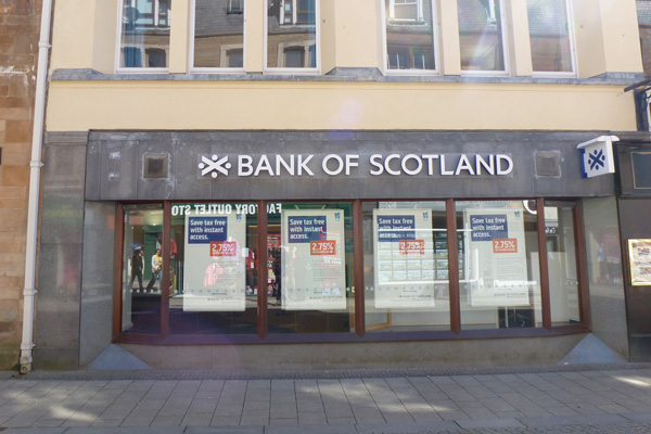 Bank of Scotland on Fort William High Street