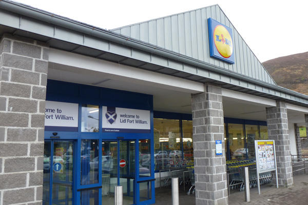 Lidl Fort William