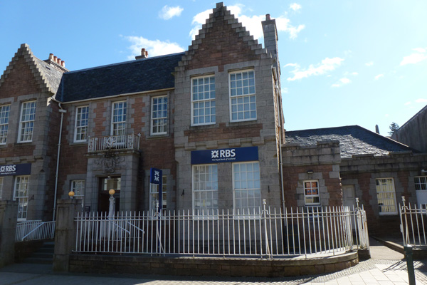 Royal Bank of Scotland on Fort William High Street