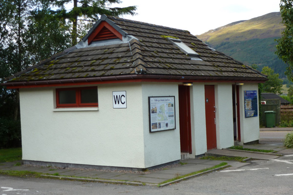 Glencoe public conveniences