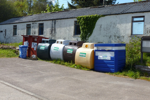 Lochaline Recycling Point