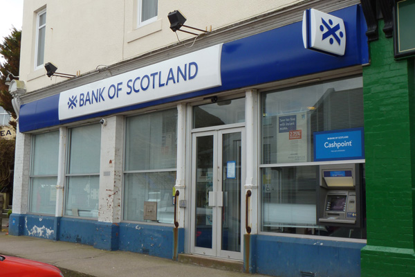 Bank of Scotland in Mallaig