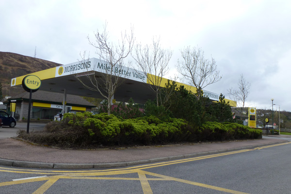 Morrisons Petrol Station and Car Wash