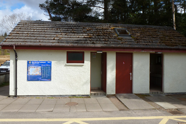 Public Conveniences at Nether Lochaber