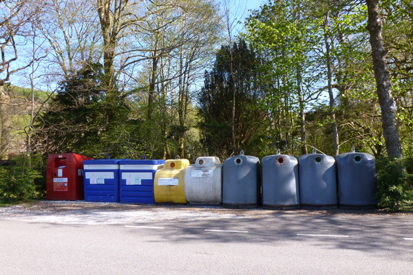 Strontian Recycling Point