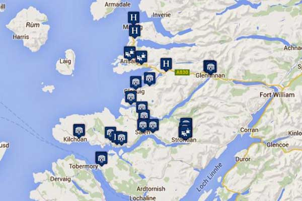 Places to Say in Moidart Ardnamurchan and Morar