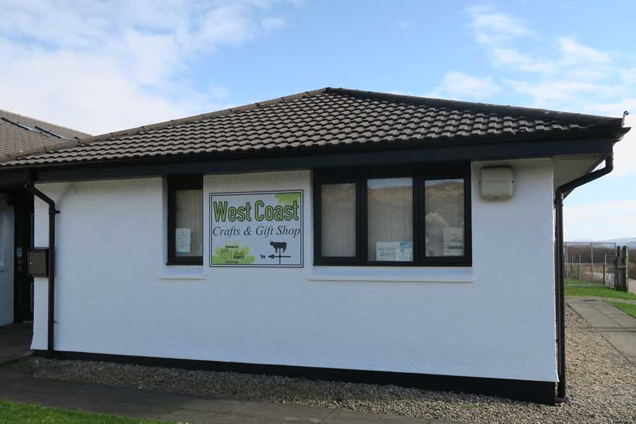 West Coast Crafts and Gift Shop in Kilchoan