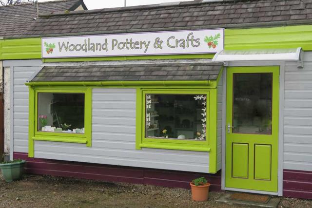 Woodland Pottery and Crafts, Strontian