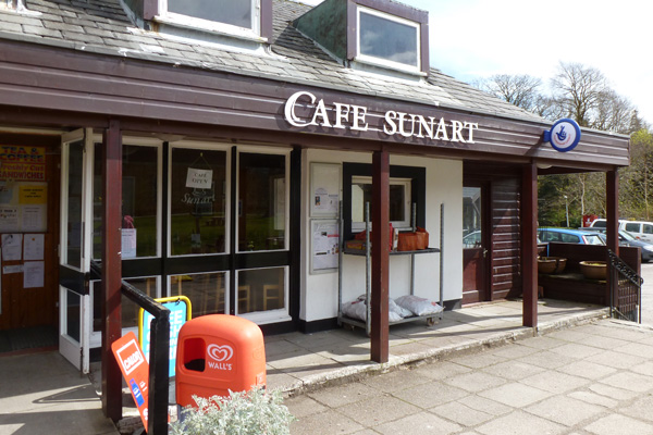 Cafe Sunart in Strontian