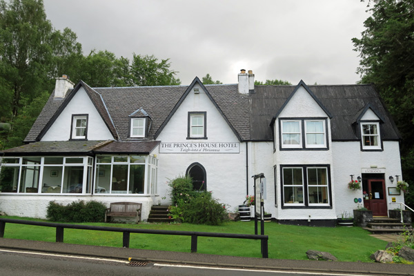 The Prince's House Hotel in Glenfinnan