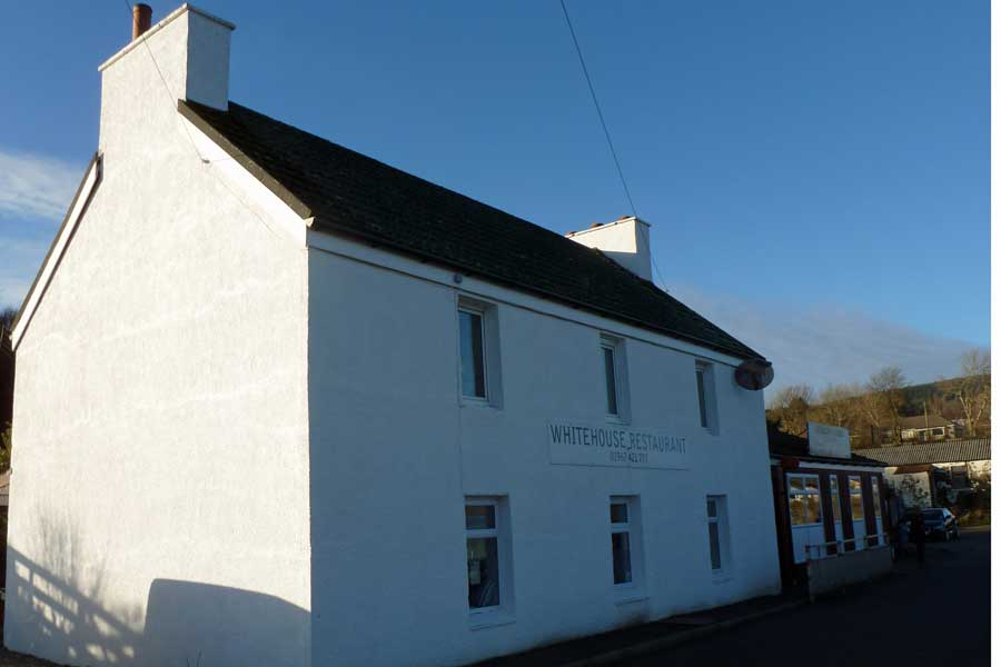 The Whitehouse Restaurant in Lochaline
