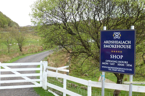 Ardshealach Smokehouse in Glenuig
