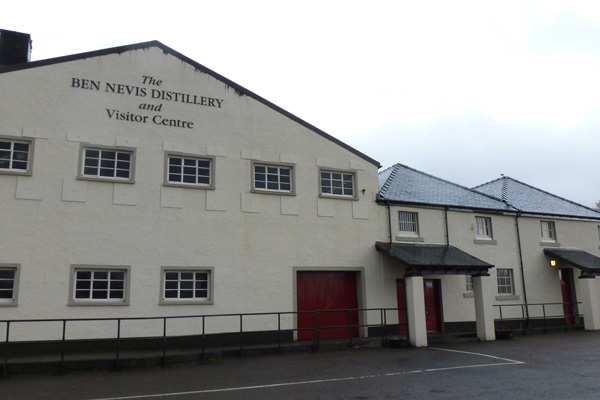 Ben Nevis Distillery in Fort William