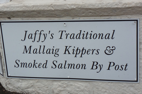 Jaffy's seafood shop Mallaig