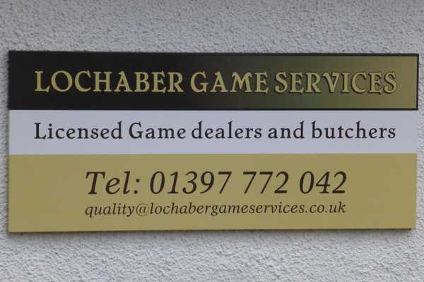 Lochaber Game Services Ltd