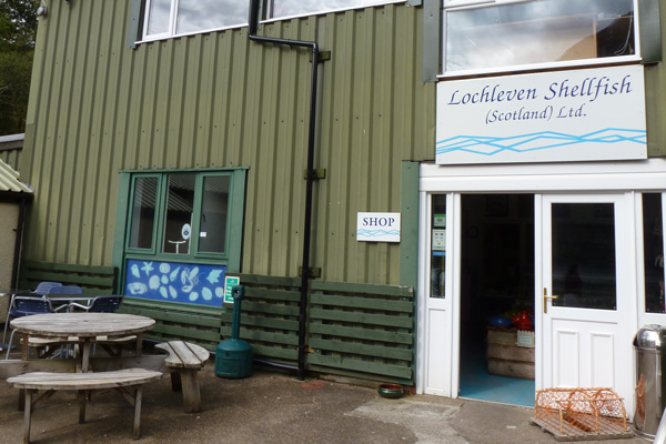 Lochleven Shellfish Shop