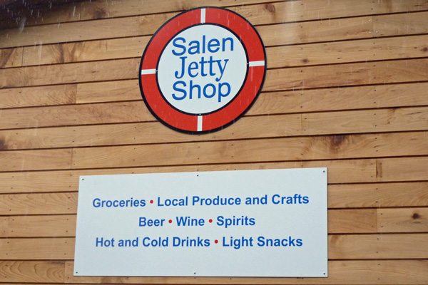 The Salen Jetty Shop