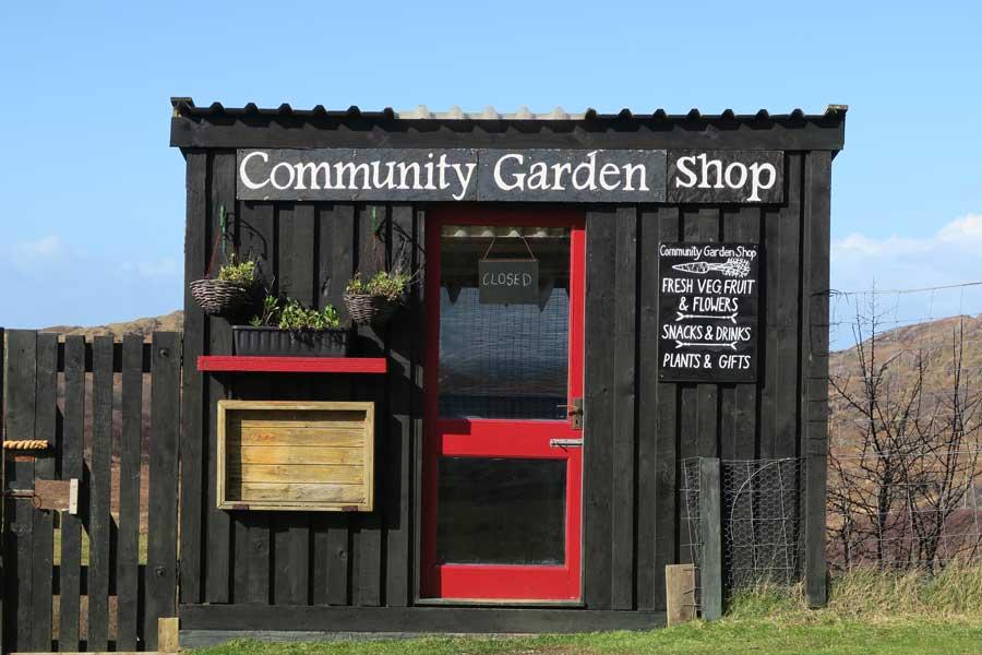 West Ardnamurchan Community Garden