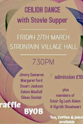 Ceilidh Dance with Stovie Supper @ Strontian