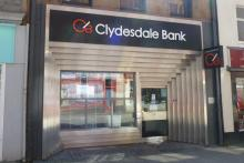 Clydesdale Bank on Fort William High Street