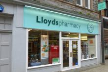 Llloyds Pharmacy on Fort William High Street