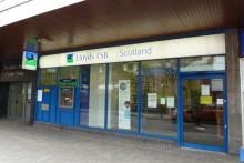 Lloyds TSB bank in Fort William