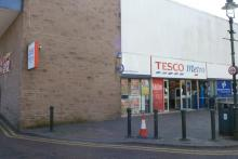 Tesco Metro on Fort William High Street