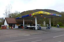 Gleaner Fuel Station Fort William