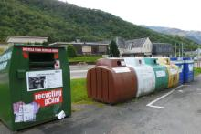 Glencoe recycling point