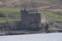 Mingary Castle - the former stronghold of the MacIans