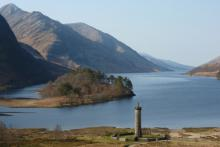 The Glenfinnan Viaduct and Loch Shiel
