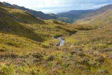 Looking down Glen Beasdale