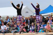 The Arisaig Highland Games is held in July at Traigh