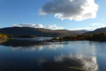 Loch Sunart from the otter hide near Resipole