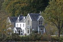 Kilcamb Lodge Hotel on the shores of Loch Sunart