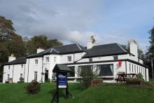 The Strontian Hotel on the shores of Loch Sunart