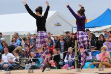 Dancing at The Arisaig Highland Games