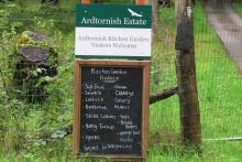 Ardtornish Kitchen Garden and Estate Shop