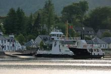 The Corran Ferry at Ardgour