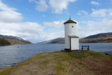 Small Lighthouse at Gairlochy