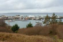 The small picturesque fishing port of Mallaig
