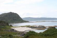 Smirisary and the slivery sands, Moidart
