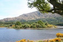 St Finan's or The Green Isle on Loch Shiel